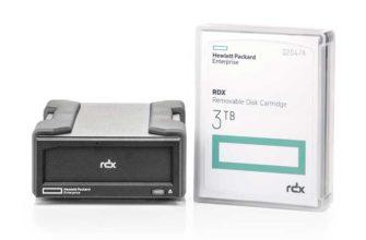 Hewlett Packard Enterprise RDX - Обзор системы резервного копирования