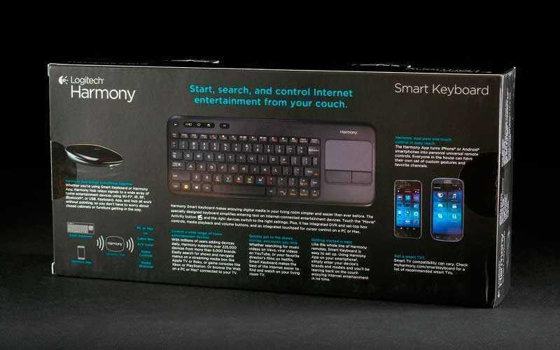Logitech Harmony Smart Keyboard в коробке