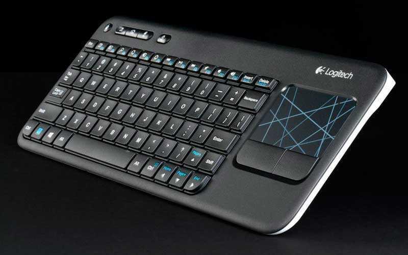 Logitech Wireless Touch Keyboard K400 – Обзор портативной клавиатуры