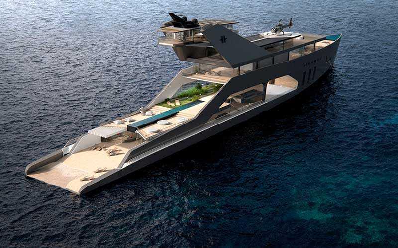 Новейшая мега-яхта 108M
