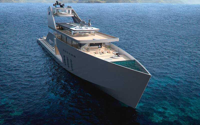 мега-яхта 108M