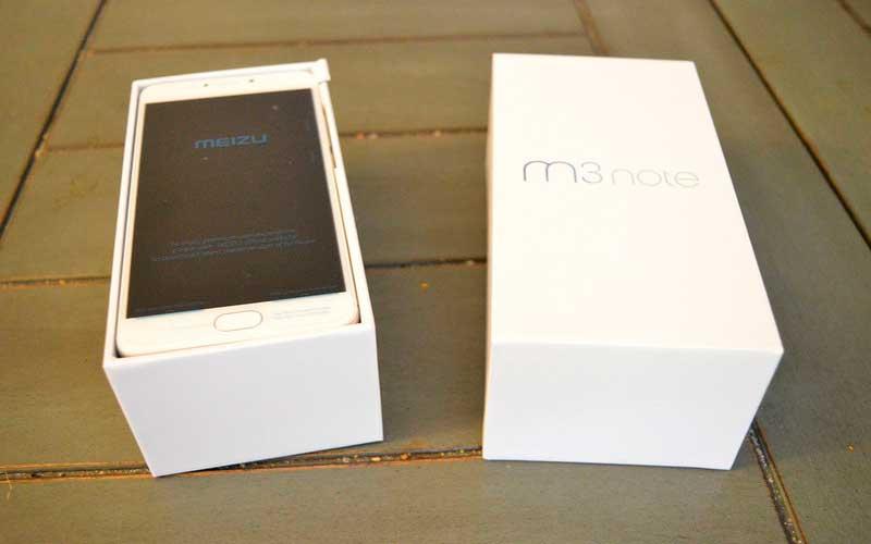 камера Meizu M3 Note в каробке