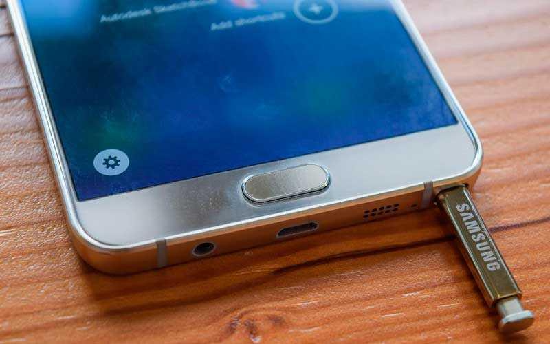 Тест Samsung Galaxy Note 5