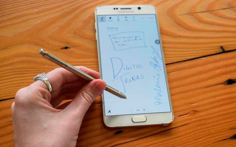 стилус Samsung Galaxy Note 5