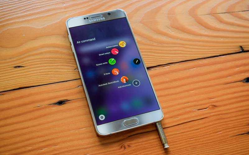 перо Samsung Galaxy Note 5
