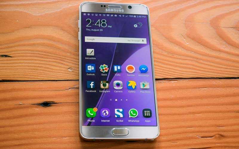 Samsung Galaxy Note 5 – Обзор отличного фаблета от Samsung