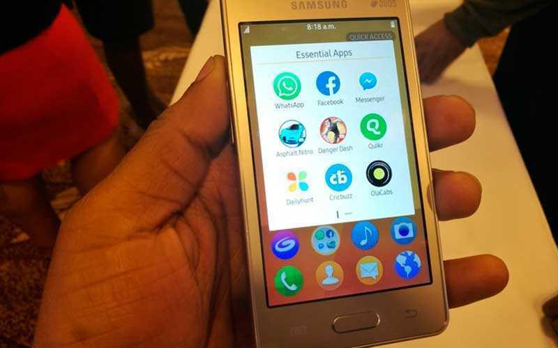 новый телефон Samsung Z2
