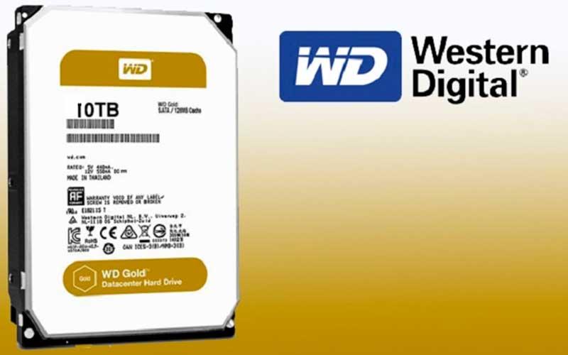 10ТБ жесткий диск Western Digital Gold