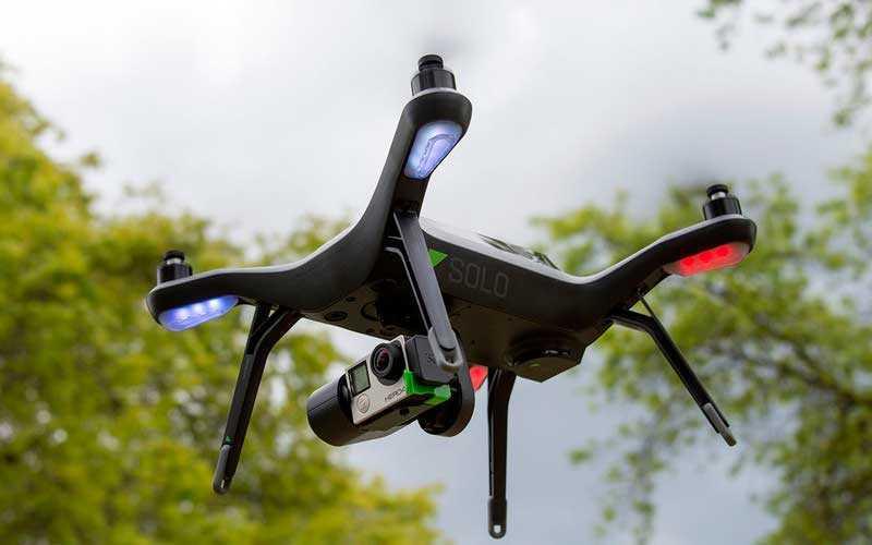 Особенности 3DR Solo Drone