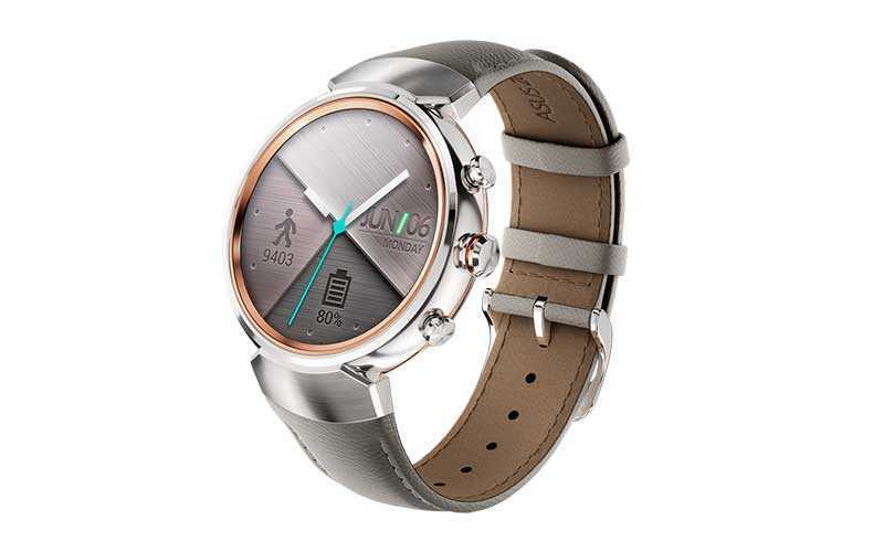 Новые смарт часы Asus ZenWatch 3
