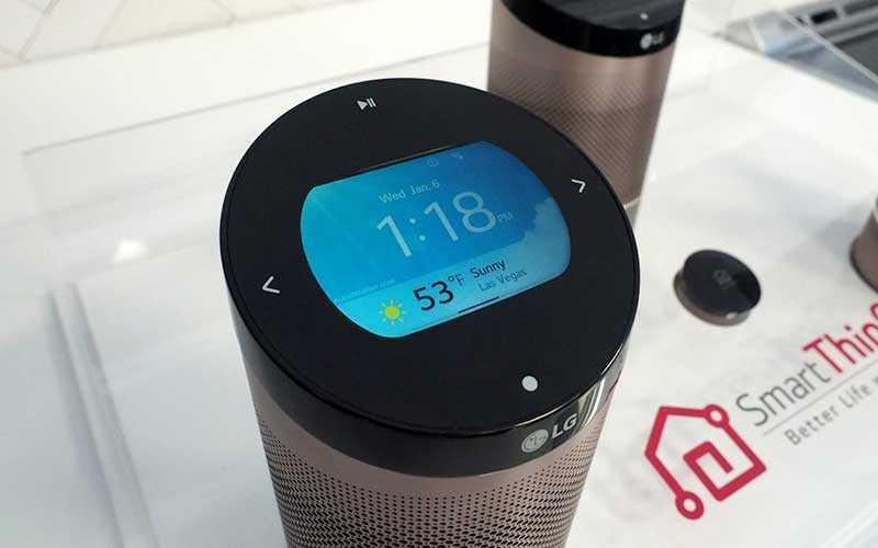 Портативный динамик LG Smartthinq Hub