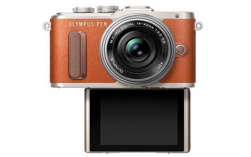 Новая камера Olympus PEN E-PL8