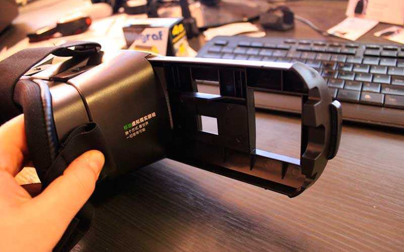 использование VR Box