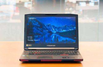 Обзор Acer Predator 17 X – Игрового ноутбука для виртуальной реальности