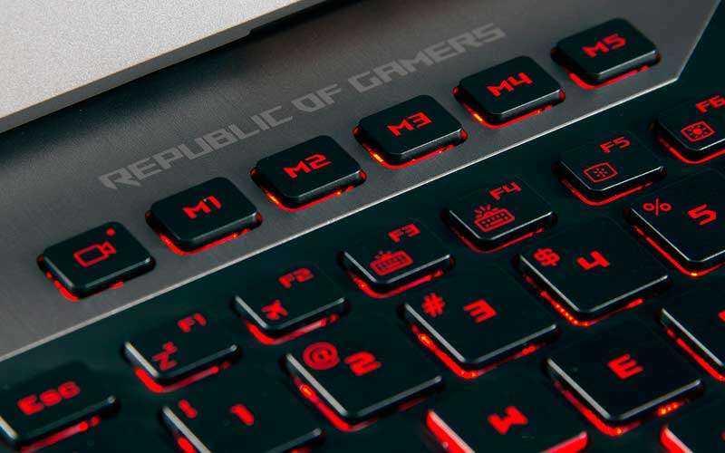 клавиатура Asus ROG G752