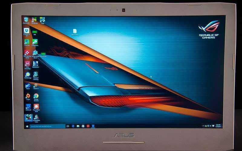 экран Asus ROG G752