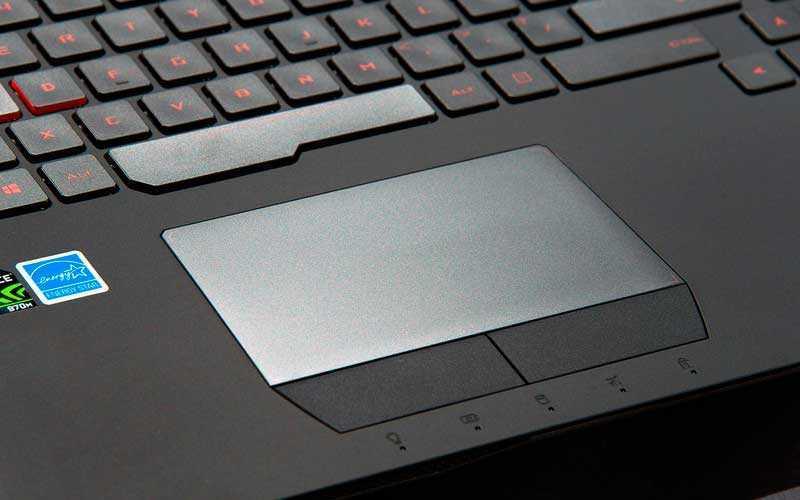 тачпад и клавиатура Asus ROG G752