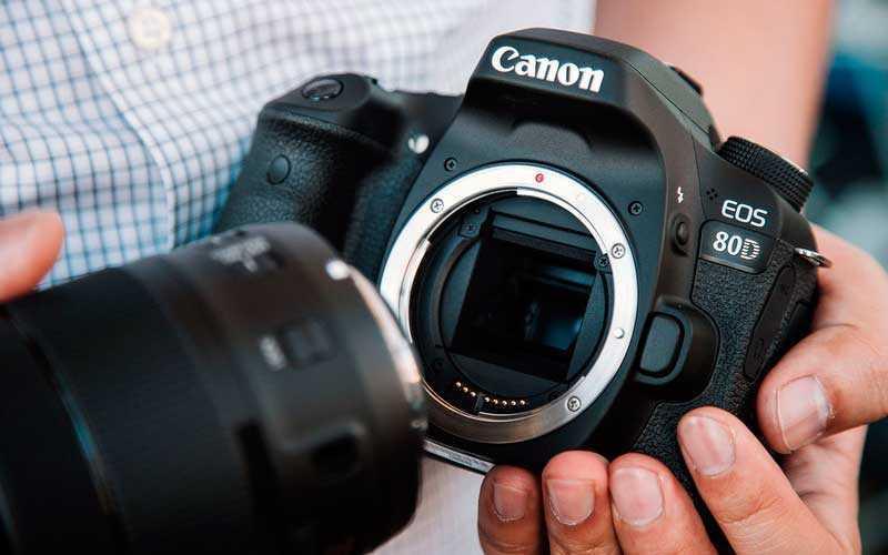 объектив Canon EOS 80D