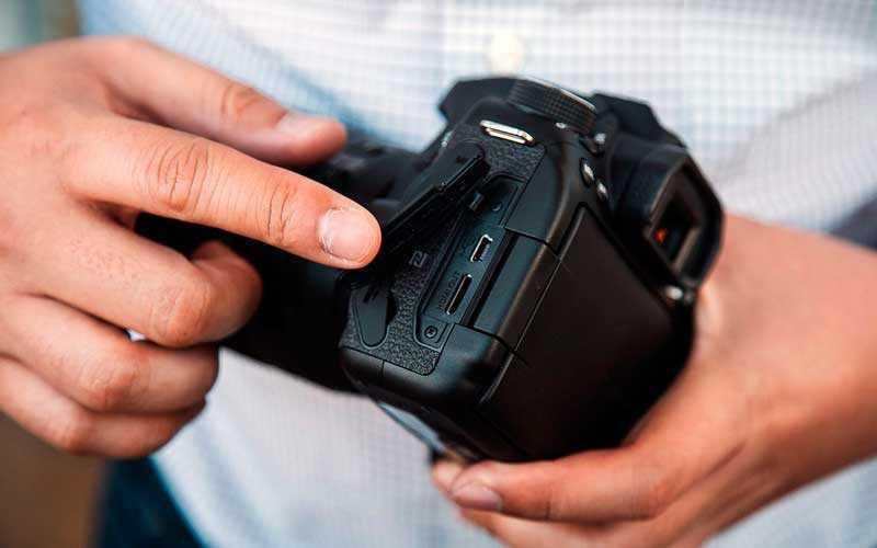 порты Canon EOS 80D