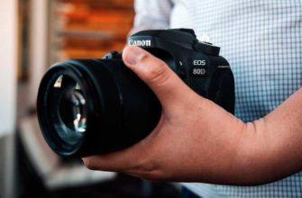 Обзор Canon EOS 80D – Зеркальная камера для профессиональных фото и видео