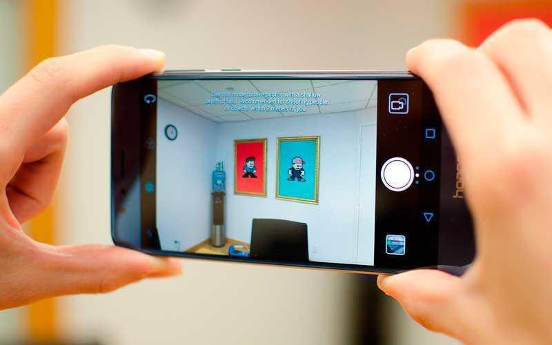 камера Huawei Honor 8