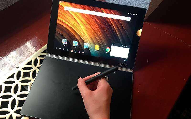 Lenovo Yoga Book как графический планшет
