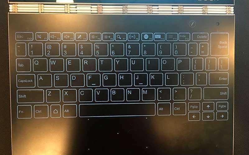 клавиатура Lenovo Yoga Book