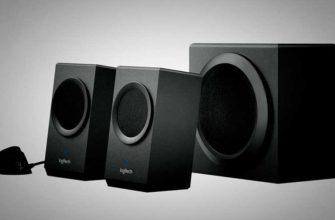 Компьютерные колонки Logitech Z-337 воспроизводят музыку через Bluetooth