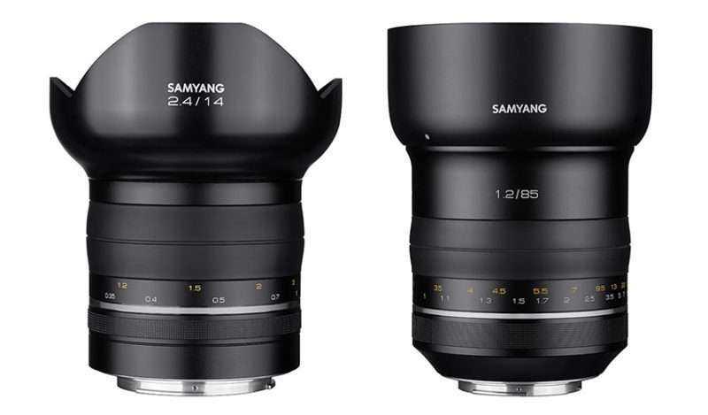 Samyang представит новые объективы