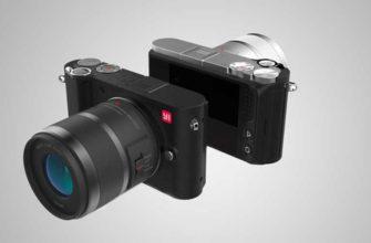 YI M1 – Китайская беззеркальная фотокамера для начинающих