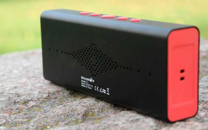 Bluetooth колонка BlitzWolf F1 IPX4