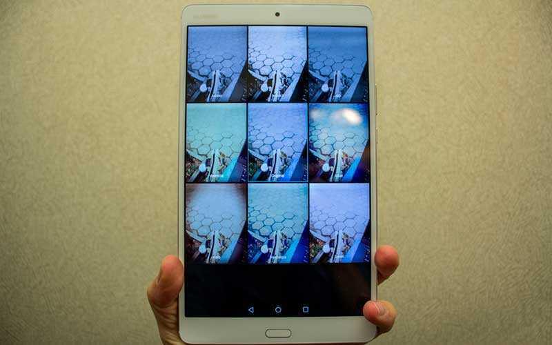 камера Huawei MediaPad M3