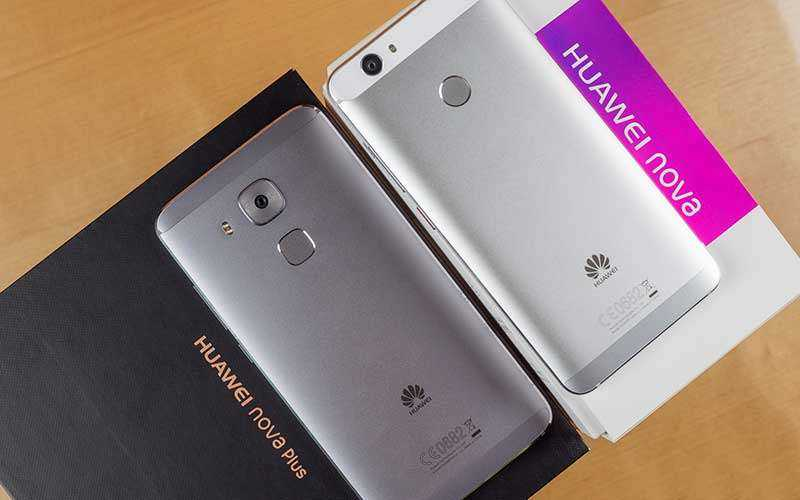 Huawei Nova и Nova Plus из коробки