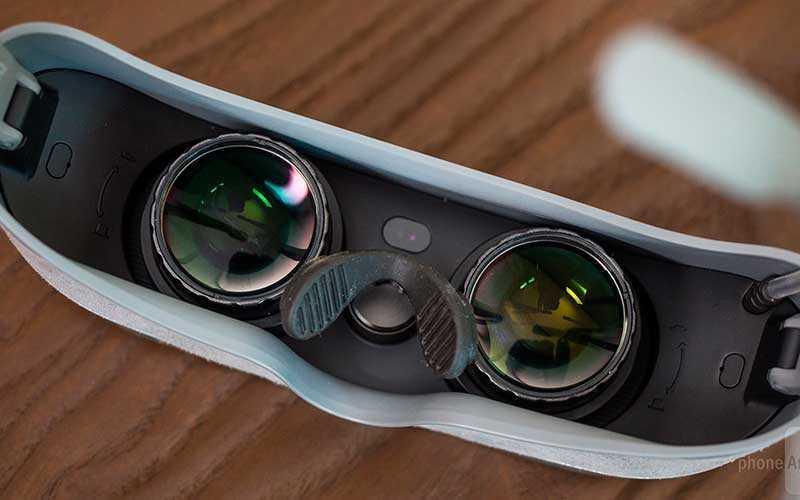 линзы в LG 360 VR