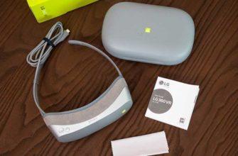 Обзор LG 360 VR – Очки виртуальной реальности от LG