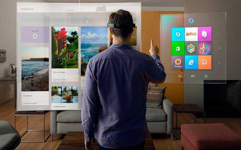 Очки Microsoft HoloLens