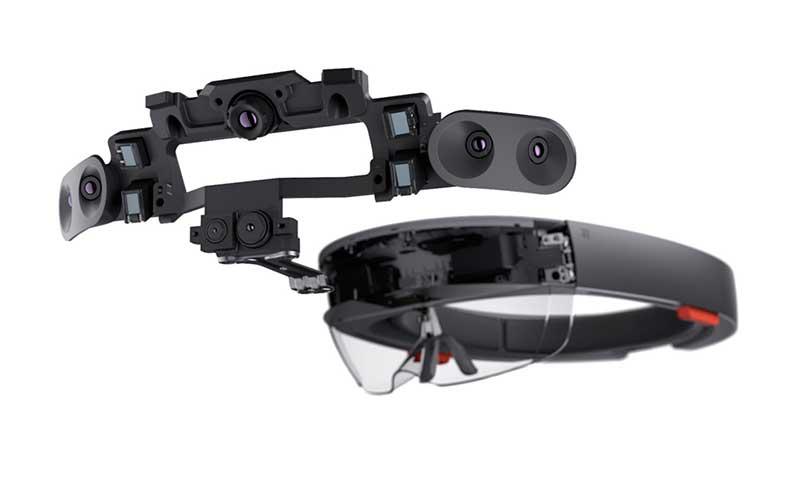 Очки дополнительной реальности Microsoft HoloLens