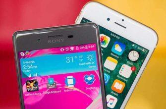Сравнение телефонов, смартфонов и планшетов