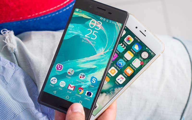 сравнения характеристик Sony Xperia X и Apple iPhone 6s