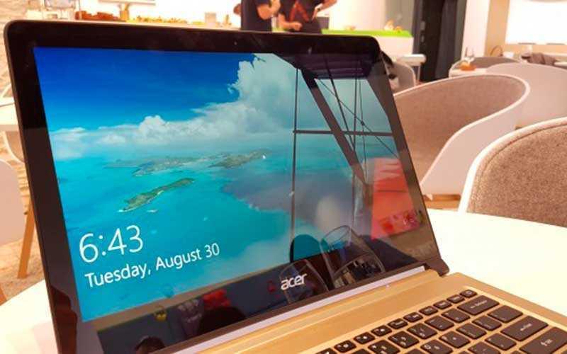тест Acer Swift 7