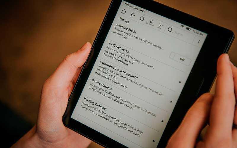 Kindle Oasis обзор