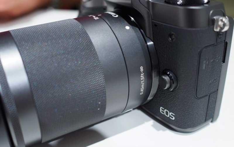тест Canon EOS M5