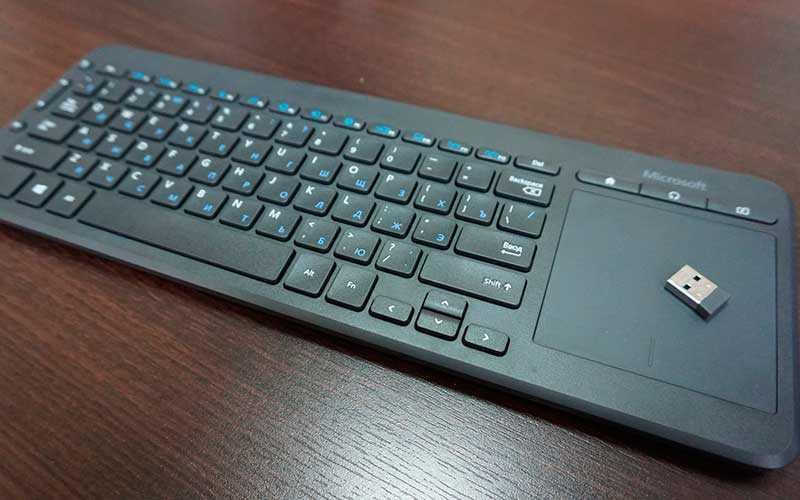 тест Microsoft All-in-One Media Keyboard