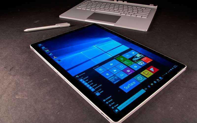 стилус и клавиатура Microsoft Surface Book