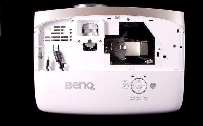 тест BenQ W2000