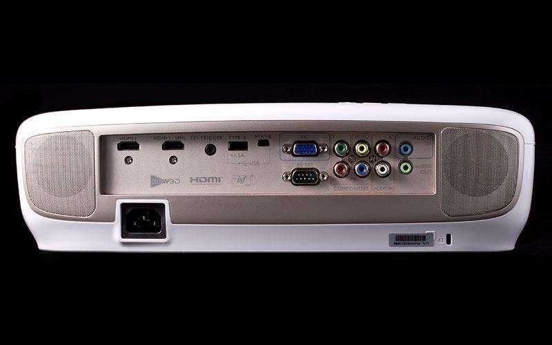 BenQ W2000 подключения и порты