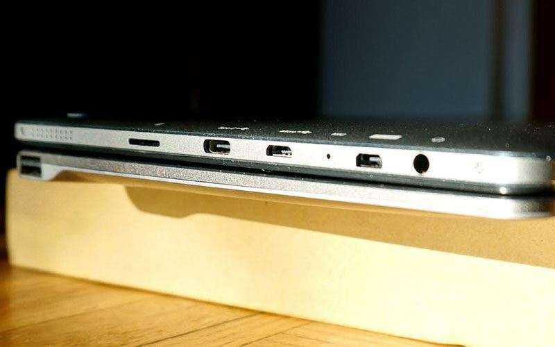 порты Chuwi HiBook Pro
