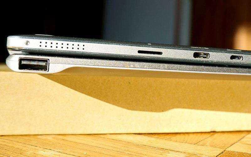 Chuwi HiBook Pro сбоку