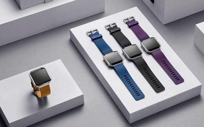 дизайн Fitbit Blaze