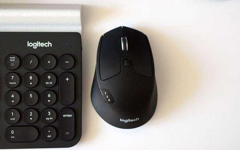 Logitech K780 Multi-Device Keyboard и Logitech M720 Triathlon